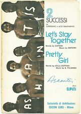 ASHANTIS_2 Successi: Let's stay together - Pretty Girl - Ed. Curci, 1975*