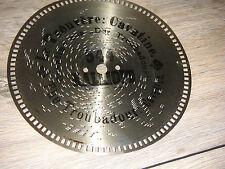 Kalliope Lochplatte 19,5cm Platte für Außenantrieb clock antique disc music box