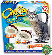 CITIKITTY A CAT TOILET TRAINING KIT WITH PATENTED SYSTEM MADE IN USA