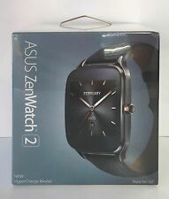 Asus ZenWatch 2 WI501Q Smartwatch Gunmetal (Brown Leather) NEW & FACTORY SEALED