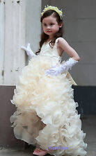 Chicas flower/bridesmaid/party / princess/prom/wedding / christening/communion Vestido
