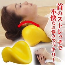 JAPAN NECK PILLOW/STRETCHER STIFFNESS RELIEVE RELAXATION HEALTH CARE