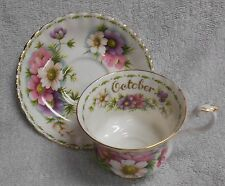 Royal Albert Flower of the Month October   Cup and Saucer