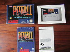 PITFALL  THE MAYAN ADVENTURE     -----   pour SUPER  NINTENDO / SNES  -- COMPLET