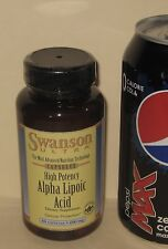 Heavy Dosage, Alpha Lipoic Acid, from Swanson     60 capsules, 600 mg each