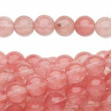 "16"" Strand CHERRY QUARTZ Beads 4mm - Pink and Pretty!"