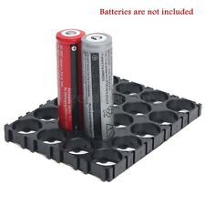 20X18650 Battery 4x5 Cell Spacer Radiating Shell EV Pack Plastic Heat Holder