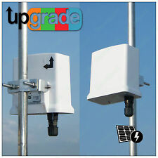 2*Mars_R2415M 300Mbps WiFi Wlan Outdoor Access Point Bridge CPE PoE mimo Antenna