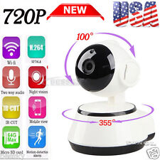 Wireless Pan Tilt HD 720-P Security Network CCTV IP Camera Night Vision WIFI IR