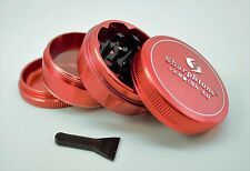 "Sharpstone V2 Herb & Tobacco Grinder 2.1"" Hard Top - Red"