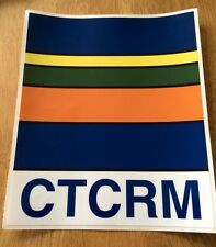 2 LARGE MILITARY CTCRM LAND ROVER  COMMANDO  TRAINING CENTRE ROYAL MARINE Decals
