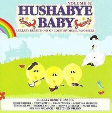FREE US SH (int'l sh=$0-$3) NEW CD Hushabye Baby: Lullaby Country Music 2