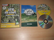 VFR REAL SCENERY VOL 4 Northern England Pc DVD Rom Add-On Flight Simulator X FSX
