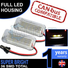 Ford Mondeo Mk4 08-on Complete LED Number Plate Housings Canbus Super Bright