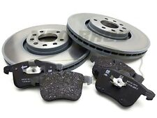 SAAB 9-3 03-12 GENUINE FRONT BRAKE PADS & VENTED DISCS KIT, 314MM, 93186299
