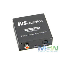 *NEW* WyreStorm EXP-CON-DAC EXPRESS DIGITAL to ANALOGUE ANALOG AUDIO CONVERTER