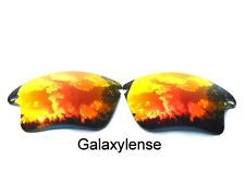 Galaxy Replacement Lenses For Oakley Fast Jacket XL Fire Red Polarized