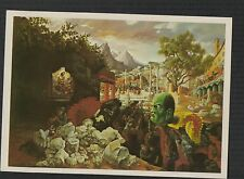 Benito Mussolini. Peter Blume Eternal City 1982 New York Art  postcard  f274