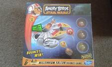 HASBRO GAMING, ANGRY BIRDS STAR WARS MILLENNIUM FALCON BOUNCE GAME,NEW SEALED