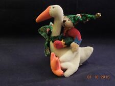 Little Gem Teddy Bears Goose and Elf by Deb Canham