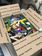 Bulk Lot of Loose LEGO Pieces and Parts approx 4 lbs per box from my kids legos