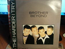 """Brother Beyond """"The Harder I Try"""" Rare Oz PS 7"""""""