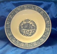 """Vintage Homer Laughlin Shakespeare Country 9"""" Serving Bowl"""