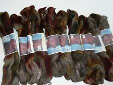 From Chile Atacama 100% Alpaca Wool 9 Skein Lot Hand Dyed Original Labels New