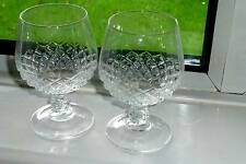 BRANDY GLASSES FRENCH SUPERIOR TOP CLASS CRYSTAL CHENONCEAU   PR GLASSES