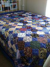 Colorful Snowball Quilt, King Size