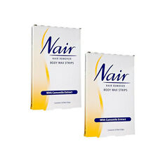 Nair hair remover body wax strips 16wax strips - pack of 2