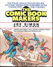 The Comic Book Makers by Joe Simon-First Edition-Jack Kirby, Spider-Man