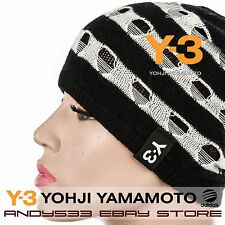 $270 Y-3 Yohji Yamamoto adidas Black Beanie Hat Cap Men Knit Unisex Women Winter