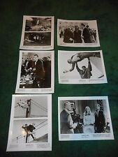 A VIEW TO A KILL - 6 ORIGINAL PUBLICITY STILLS - BOND/TANYA ROBERTS/GRACE JONES