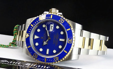 ROLEX - 18kt Gold & SS SUBMARINER Blue Ceramic Model 116613 - SANT BLANC