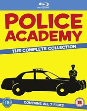 Police Academy Collection Movies 1-7 1 2 3 4 5 6 7 New Blu Ray Region Free