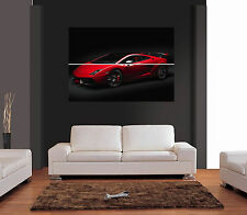 LAMBORGHINI GALLARDO RED Ref 03 Giant Wall Art Print Picture Poster