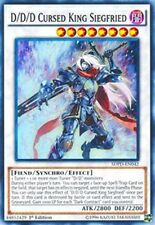 1X D/D/D Cursed King Siegfried- Common -SDPD-EN042-NM-Yugioh Pendulum Deck