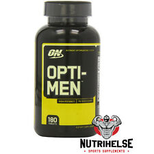 OPTIMUM NUTRITION OPTI-MEN 180 TABS OPTIMEN MULTI-NUTRIENT VITAMINS MINERALS