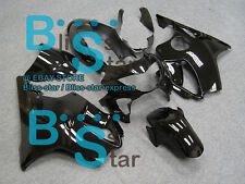 Black Glossy INJECTION Fairing Bodywork Fit HONDA CBR600F4 1999-2000 17 A1