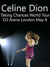 "Celine Dion London 16"" x 12"" Photo Repro Concert Poster"
