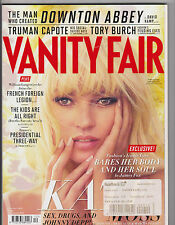 VANITY FAIR DECEMBER 2012 No. 628 KATE MOSS, JOHNNY DEPP, DOWNTON ABBEY