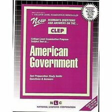AMERICAN GOVERNMENT (College Level Examination Series) (Passbooks) (CO-ExLibrary