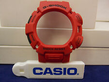 Casio Watch Parts G-9000 Mx-4 Bezel/Shell Red W/Black Push Pads.Casio Case Part