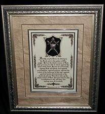 New~PUT ON THE WHOLE ARMOR OF GOD~Framed Bible Scripture Plaques,Christian Gifts