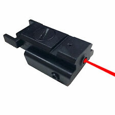 NEW Tactical Low Profile Compact Red Laser Sight 20mm Picatinny Weaver Rail Gun