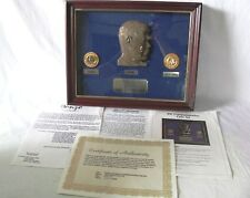 JOHN KENNEDY JFK COMMEMORATIVE COIN SET 1964 GOLD HALF DOLLAR RUBY EMERALDS COA