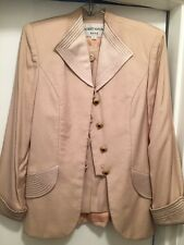 albert nipon cocktail suit Beige Size 6 Special Occasion Wedding Formal Cocktail