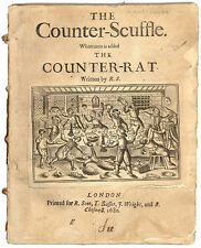 John Speed -  The Counter-Scuffle. Whereunto is Added the Counter-Rat - 1680!
