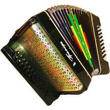 Ukrainian Button Accordion Bayan Harmonika Garmon, 2 Rows, 25 x 25, 366